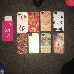 Accessories - iPhone 4 cases take them all